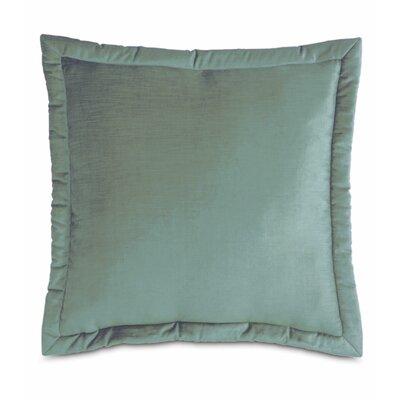 Lucerne Reuss Mitered Flange Velvet Sham Size: 20 x 27, Color: Ocean
