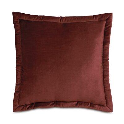 Lucerne Reuss Mitered Flange Velvet Sham Size: 20 x 27, Color: Spice