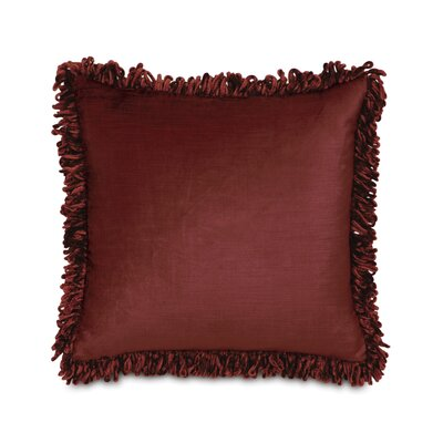 Lucerne Cotton Throw Pillow Color: Spice