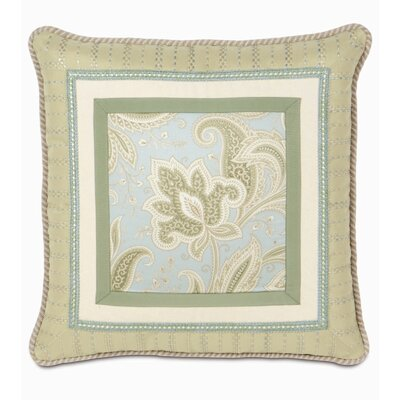 Southport Border Collage Throw Pillow