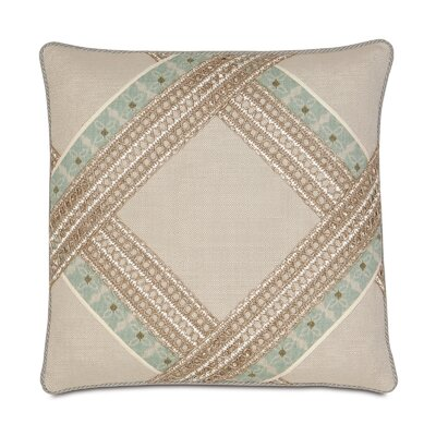 Avila Vivo Bisque Diamond Throw Pillow