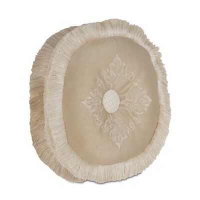 Brookfield Embroidered Tambourine Throw Pillow