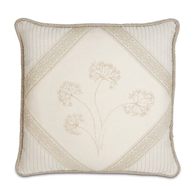 Brookfield Hand-Painted Diamond Throw Pillow