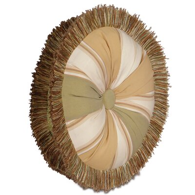 Caicos Doral Tambourine Throw Pillow