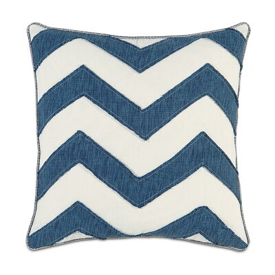 Ceylon Garrison Storm Chevron Throw Pillow