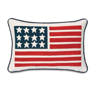 Carter Polyester Hand-Painted Komodo Cotton Decorative Pillow