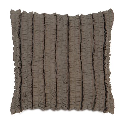Breeze Mitered Throw Pillow Color: Clay