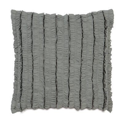Breeze Mitered Throw Pillow Color: Slate