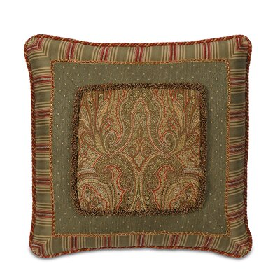 Glenwood Border Collage Throw Pillow