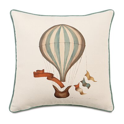 Kai Hand Painted Balloon Cord Throw Pillow