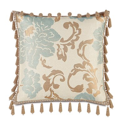 Kinsey Beaded Trim Throw Pillow