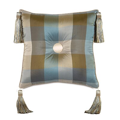 Kinsey Beckford Sky Tufted Throw Pillow