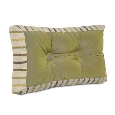 Caldwell Freda Mitered and Tufted Lumbar Pillow