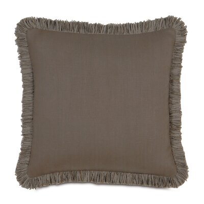 Breeze Mitered Throw Pillow Size: 20 x 20, Color: Clay