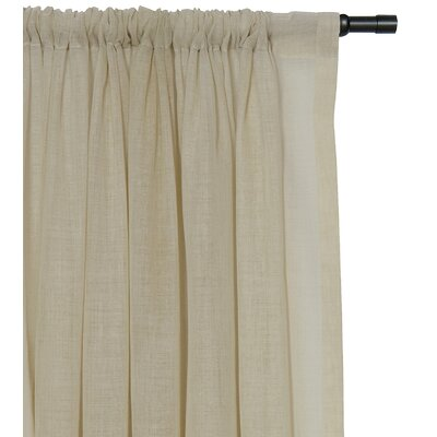 Palapa Rod Pocket Single Curtain Panel