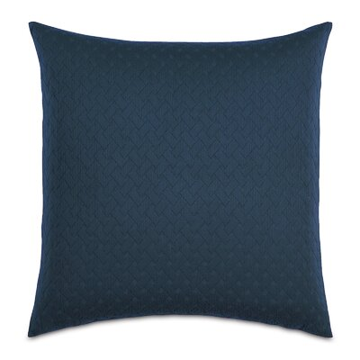 Briseyda Matelasse Sham Size: Grand King, Color: Indigo