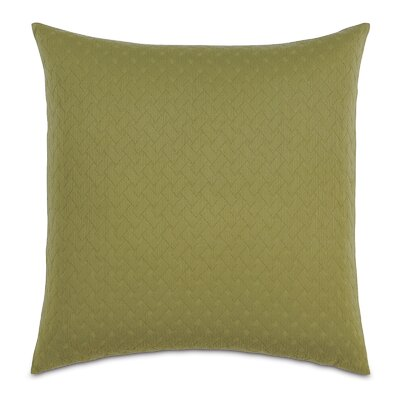 Briseyda Matelasse Sham Size: Grand King, Color: Palm