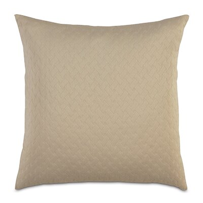 Briseyda Matelasse Sham Color: Sand, Size: Grand King