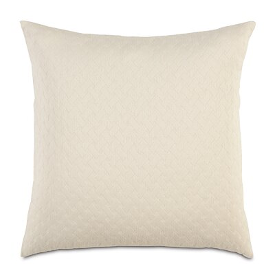 Briseyda Matelasse Sham Size: Grand King, Color: Shell
