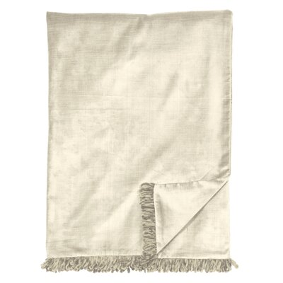 Lucerne Throw Color: Ivory