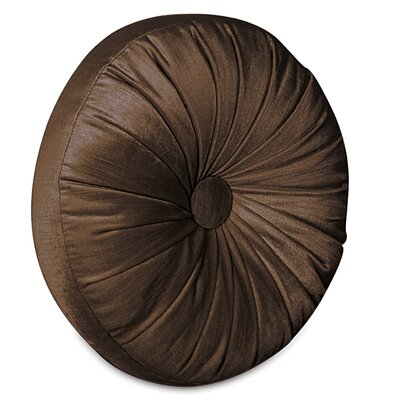 Lucerne Tambourine Velvet Throw Pillow Color: Mocha