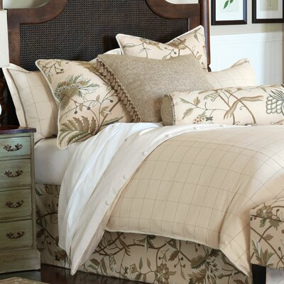 Gallagher Franklin Vanilla Duvet Cover Size: King