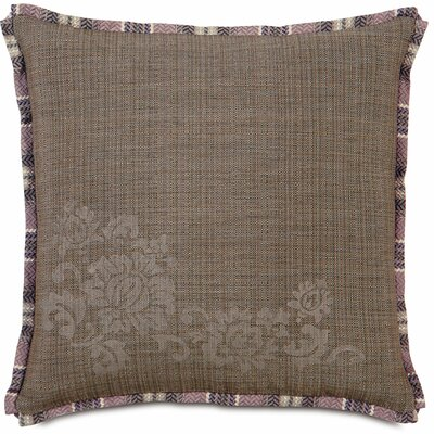 Mica Farrow Block Printed Throw Pillow