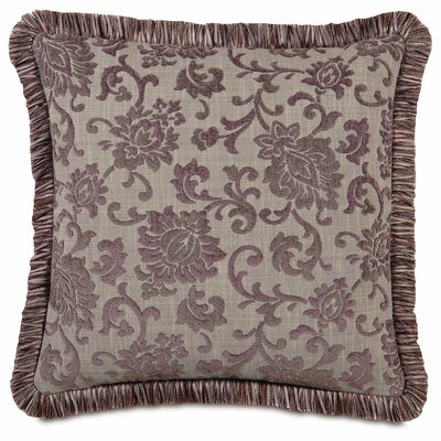 Mica with Brush Fringe Throw Pillow