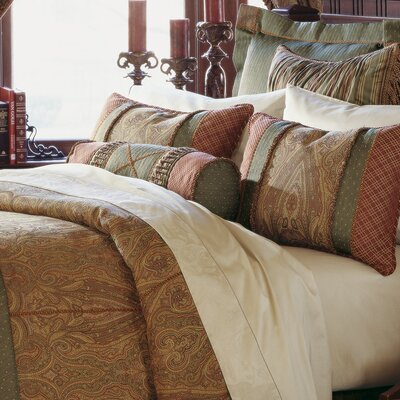 Glenwood Comforter Size: Super Queen, Finish Type: Hand-Tacked