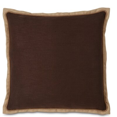 Mondrian Euro Pillow Color: Brown