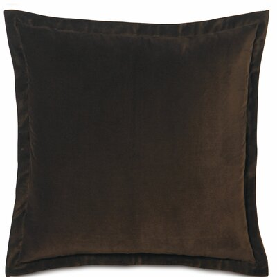 Jackson Sham Color: Brown, Size: Euro