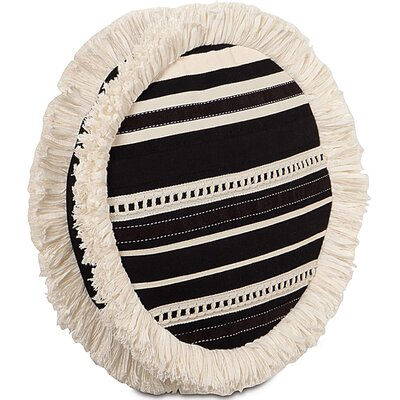 Evelyn Fullerton Ink Tambourine Throw Pillow