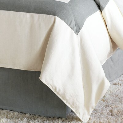 Breeze Duvet Cover Size: Super Queen, Color: Pearl Slate