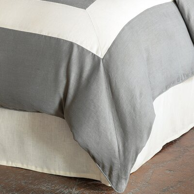 Breeze Duvet Cover Color: Slate Pearl, Size: King