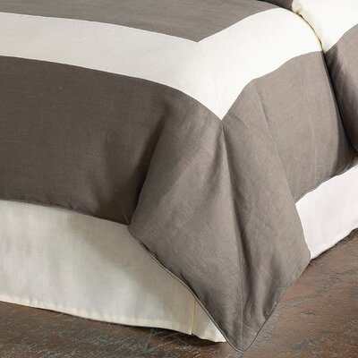 Breeze Duvet Cover Size: Super King, Color: Clay Pearl