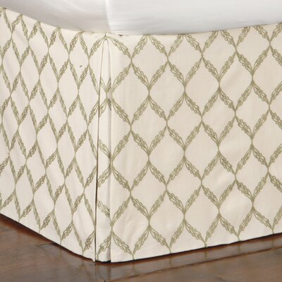 Caicos Bartow Bed Skirt Size: California King