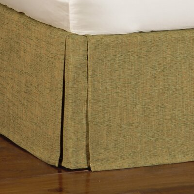 Antigua Broward Grass Bed Skirt Size: Queen