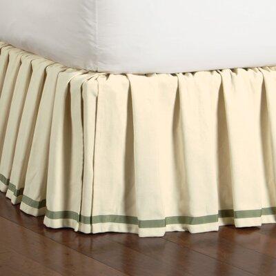 Southport Komodo Cotton Bed Skirt Size: Twin