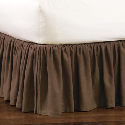 Kira Leon Bed Skirt Size: King