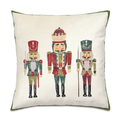 Deck The Halls The Nutcracker Throw Pillow