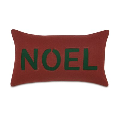 Home for The Holidays Noel Lumbar Pillow