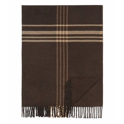 Euromat Cotton Blend Throw Blanket Color: Regents Park