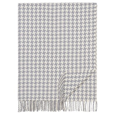 London Cotton Throw Color: Gray