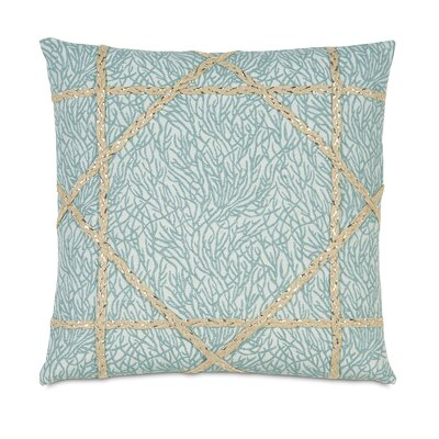 Coastal Tidings Coastal Weaving Throw Pillow