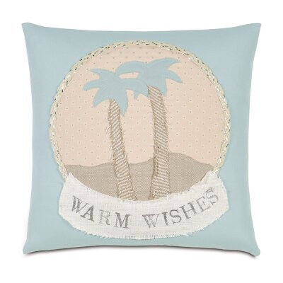 Coastal Tidings Warm Wishes Throw Pillow
