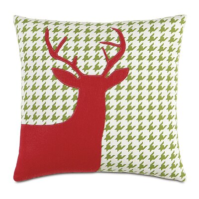 North Pole Prancer Throw Pillow