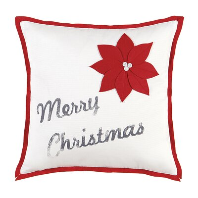 North Pole Christmas Cheer Throw Pillow