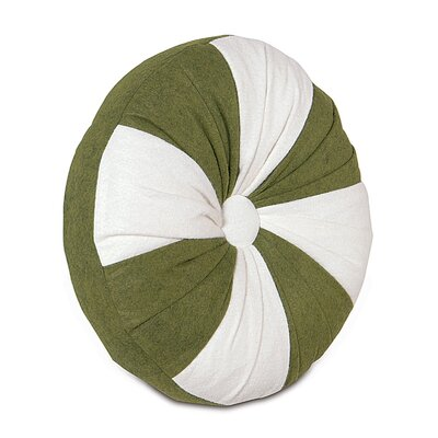 North Pole Mint Throw Pillow Color: Holly Mint