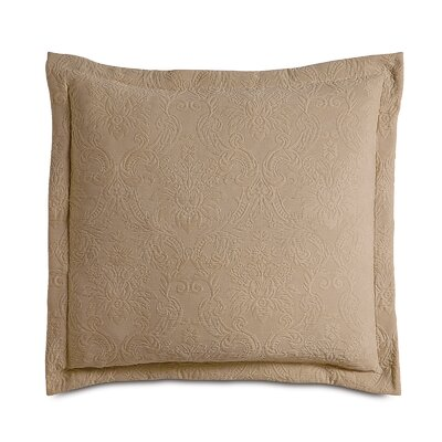 Sandrine Matelasse Sham Size: King, Color: Maple