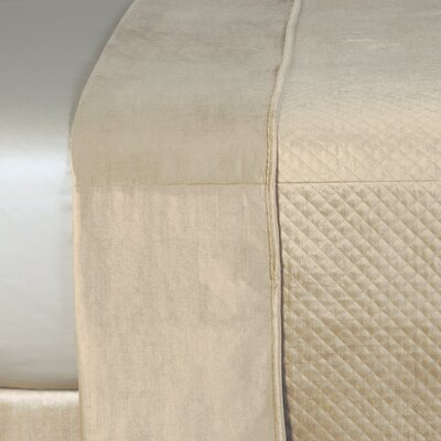 Lucerne Reuss Light Weight Coverlet Size: King, Color: Taupe